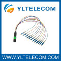 MPO to LC Fiber Optic Patch Cord,4, 8, 12, 24 Fiber for optical CATV