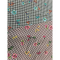 Check Flower Rayon Poplin shuttle 45S Printing Fabric