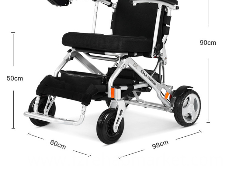 Automatic power wheelchair for disabled people