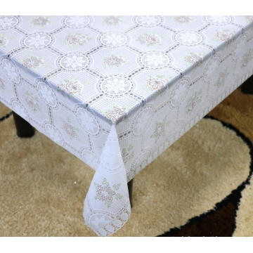 walmart Printed pvc lace tablecloth by roll