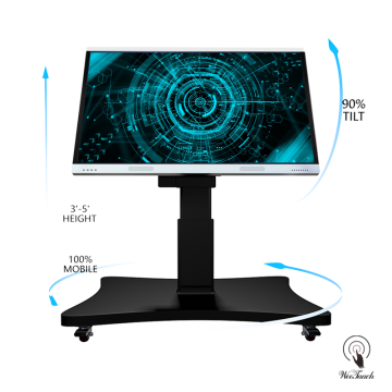 75 Inches Touch Screen na Automatic Stand
