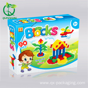 Custom toy paper box packaging