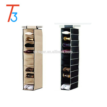 Hot selling Hanging shoe Organizer with 10 Compartments