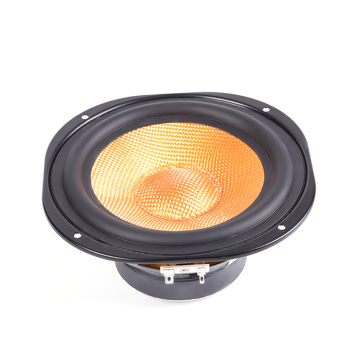 "6,5 ""Koil Speaker tunggal 25 woofer"