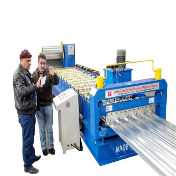Trapezoidal Metal Roof Panel Roll Forming Machine