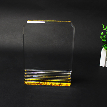 Perspex custom engraving clear corporate awards