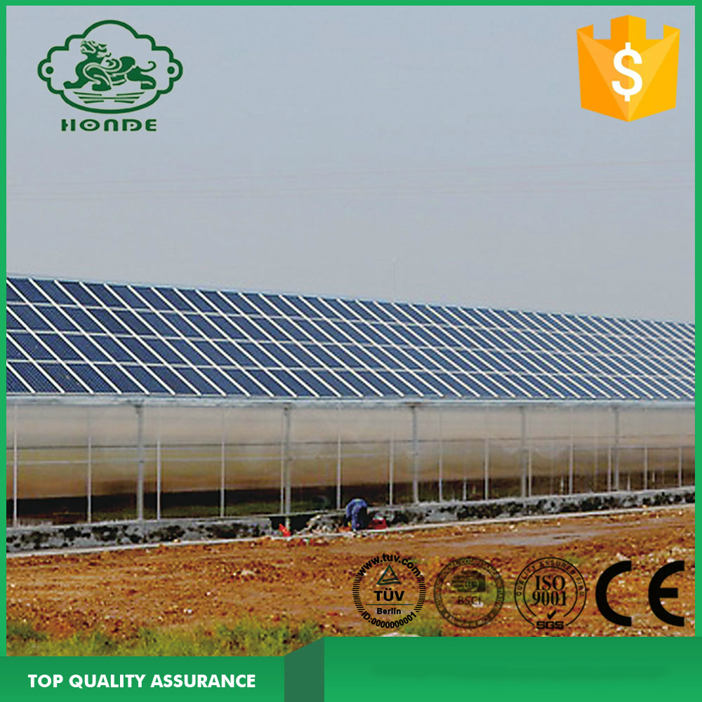 Solar Mounting System For Green House