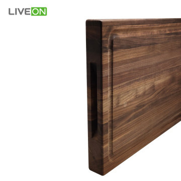 Black Walnut Wood Cutting Board for Kitchen Chopping