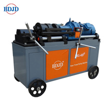 Rebar Threading Machine for Making Straight Screw