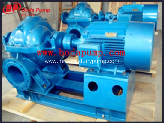 S single stage double suction centrifugal pumps