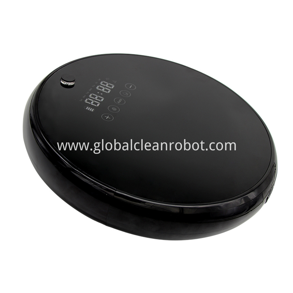 LED Touch Display Vacuum Robot (3)