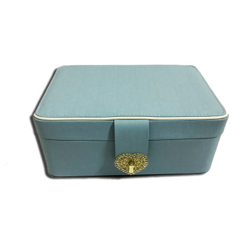 High definition Cheap Price for Small Jewelry Box Beautiful jewelry box with heart shape lock export to Vanuatu Manufacturer