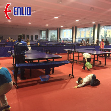 OEM Manufacturer for Table Tennis Sports Flooring ITTF table tennis floor mat export to India Factories