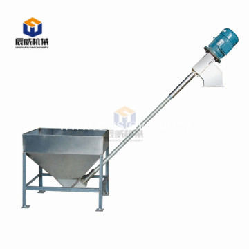 plastics flexible screw spring conveyor feeding machine