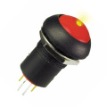Waterproof Locking Illuminated Push Button Switch