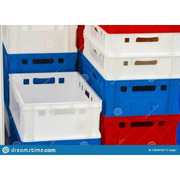 Colorful storage plastic boxes