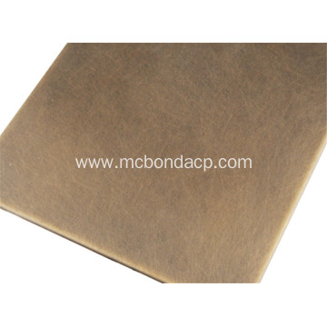ISO Standard PE Coating Copper Composite ACP Panel