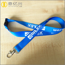 personalised key id badge silk screen lanyard