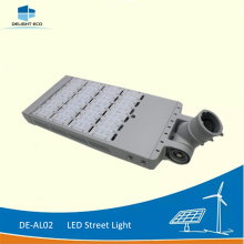 High Efficiency Factory for Led Solar Street Light DELIGHT DE-AL02 200W Bridgelux Chip LED Street Light supply to Macedonia Exporter