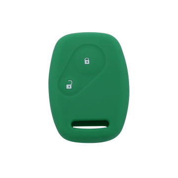 Smart 2 buttons embossed silicone key cover