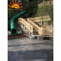 Children Outdoor Large Backyard Tube Slide