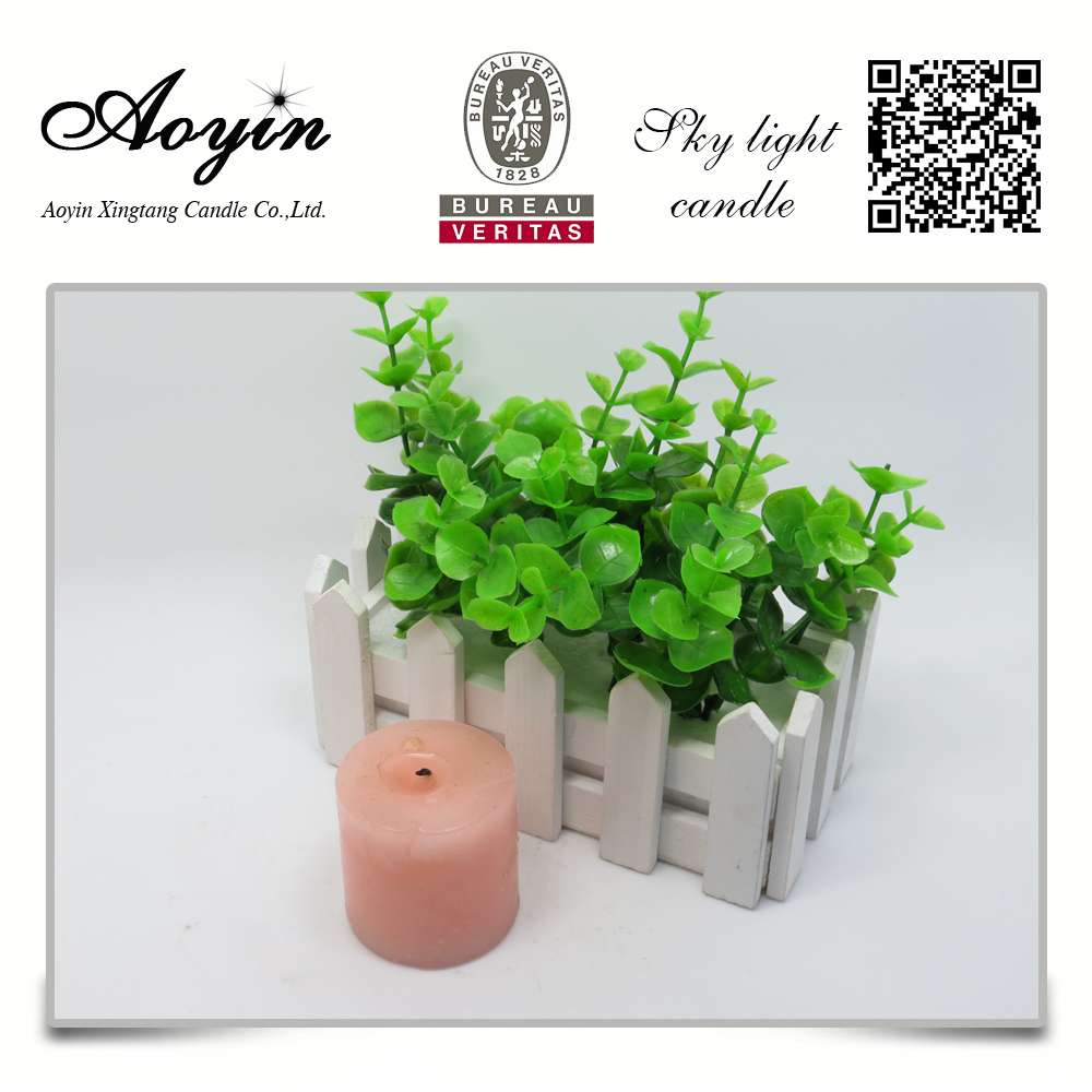 scented gift and craft pillar candle