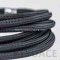 PET Expandable Braided Cable Sleeve Fabric Cable Sleeving