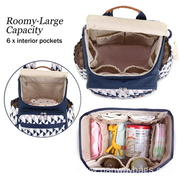 Outdoor Travel Mummy Nappy Bag Backpack