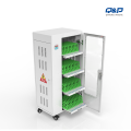 smart charging cart cabinet for Ipad and tablet pc apply to school