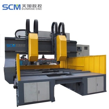 Automatic Steel CNC Heat Exchanger Drilling Machine