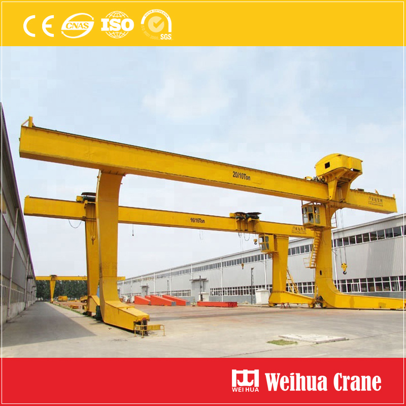 L Type Single Girder Gantry Crane 5