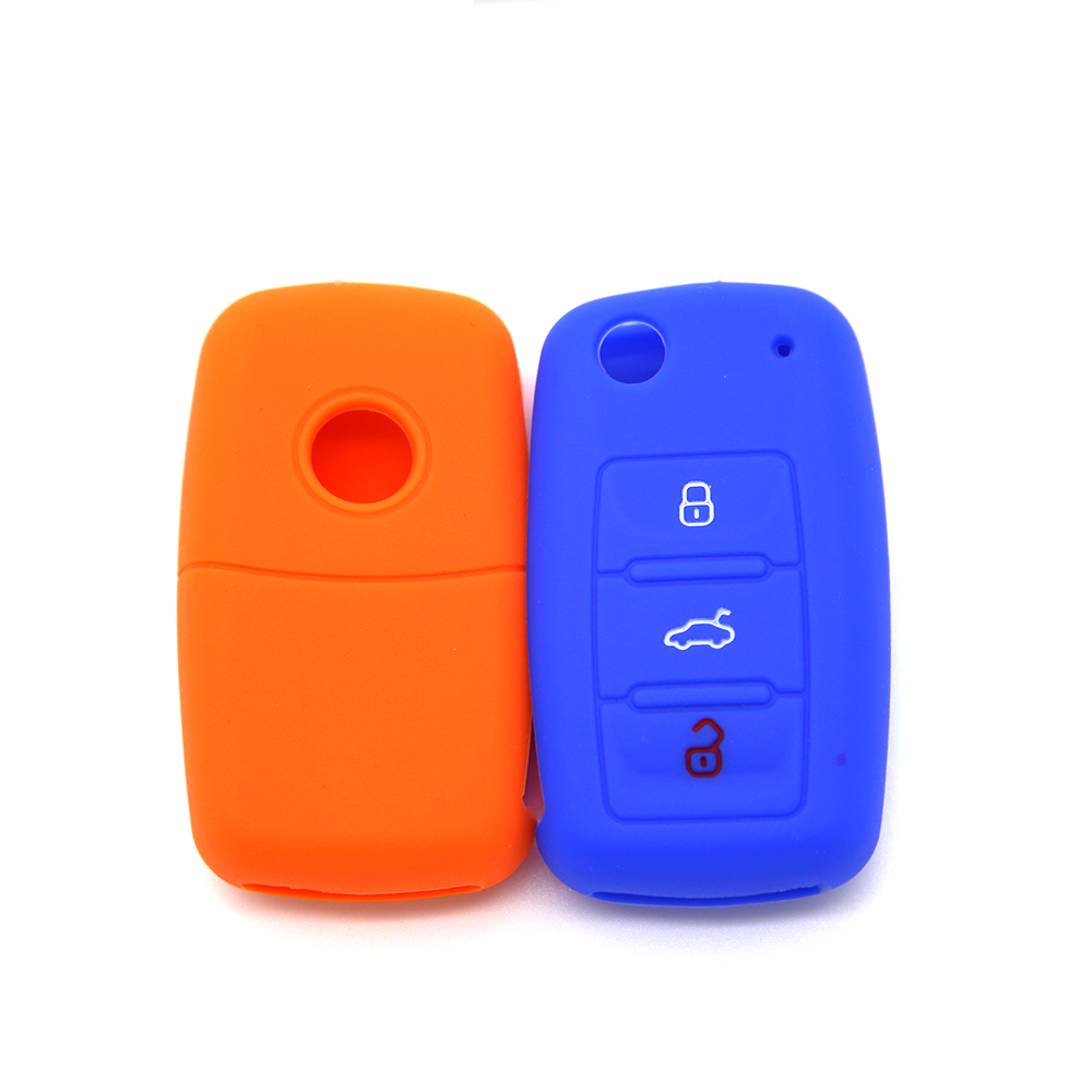 silicone key cover for vw