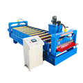 Trapezoidal Aluminum Steel Roof Roll Forming Machine