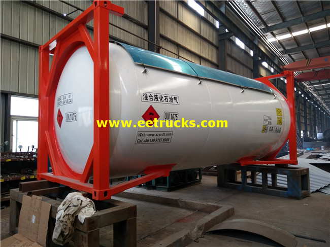 24000L 20feet LPG Tank Containers