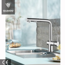Deck Mounted Single Hole Rotatable Kitchen Faucet Taps