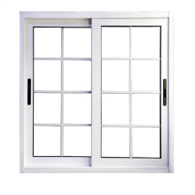 aluminum window sliding window with grid factory sale