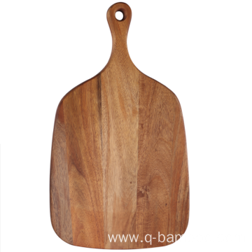 Bread board with handle acacia wood