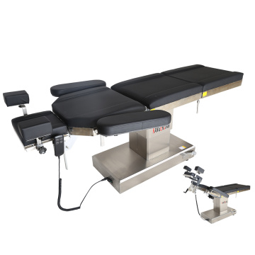 Adjustable surgical manual hydraulic operating table