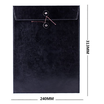 Office PU Leather File  Folder Document Bag