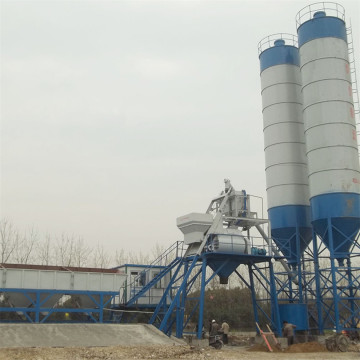 Hopper type high performance concrete batching plant