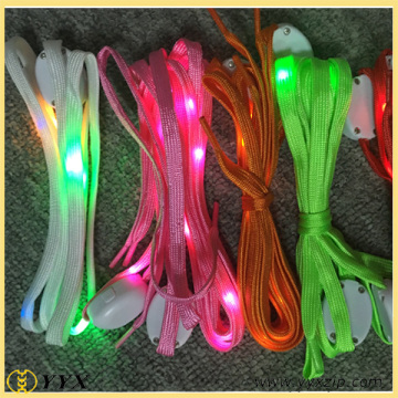 Glow in the dark flashing led shoelace