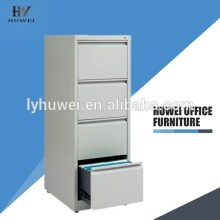 Low price for Metal Filing Cabinet KD 4 layers steel cupboard drawer cabinet export to Mauritius Wholesale