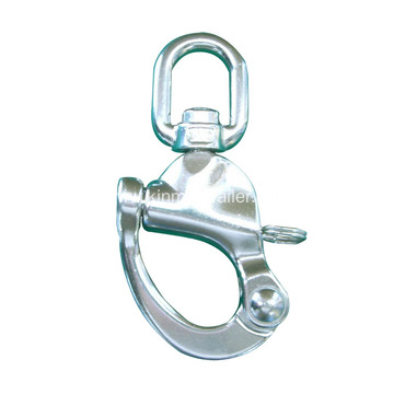 Swivel Eye Steel Snap Shackle