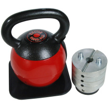 Weight Adjustable Cast Iron Kettlebell