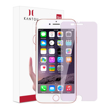 Good quality 100% for Iphone 8 Plus Tempered Glass KANTOU Anti Blue Light Protector for iPhone8 Plus export to Liechtenstein Exporter