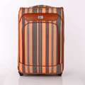 PU travel Carry On suitcase hard shell luggage