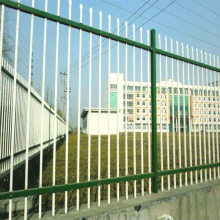professional factory for Golden Iron Art Powdered Coated Art Iron Garden Fence supply to Spain Factory