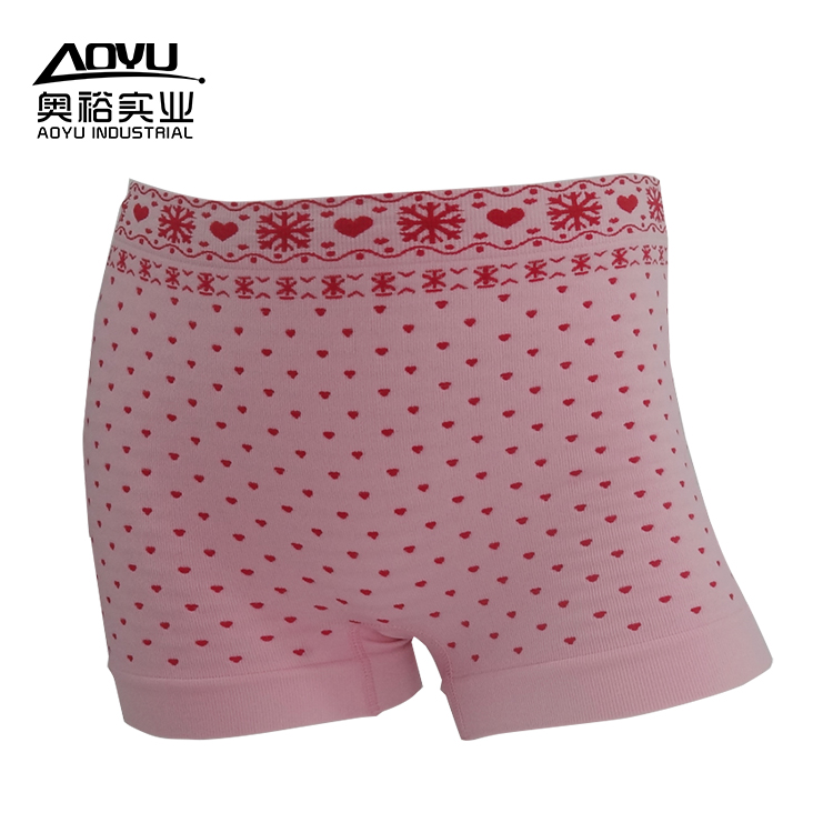 Hot-selling Fashion Underwear Young Women Boxer Shorts