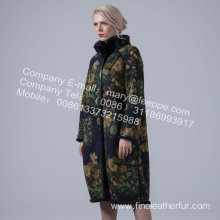 Mink Reversible Winter Women Coat