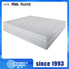 Factory Free sample for 100% Virgin White PTFE Sheet Higher quality PTFE molded round plate export to United Arab Emirates Factory